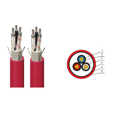 Rubber Sheathed Flexible Cable with Metallic Screen and Monitoring Core of Rated Voltage 8.7/10kV and below