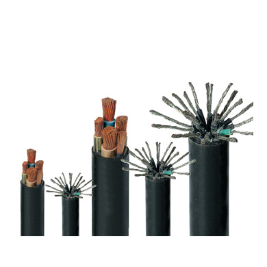 Universal rubber sheathed flexible cable
